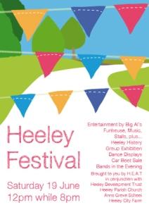 Heeley Festival 2010 Flyer