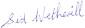 Sid Wetherill's signature
