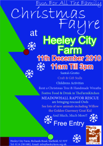 Heeley City Farm Christmas Fayre