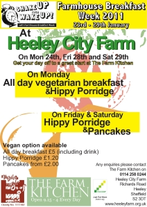 Farmhouse Breakfast Week at Heeley City Farm