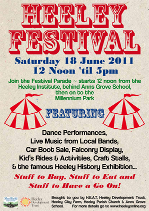 Heeley Festival 2011 Poster