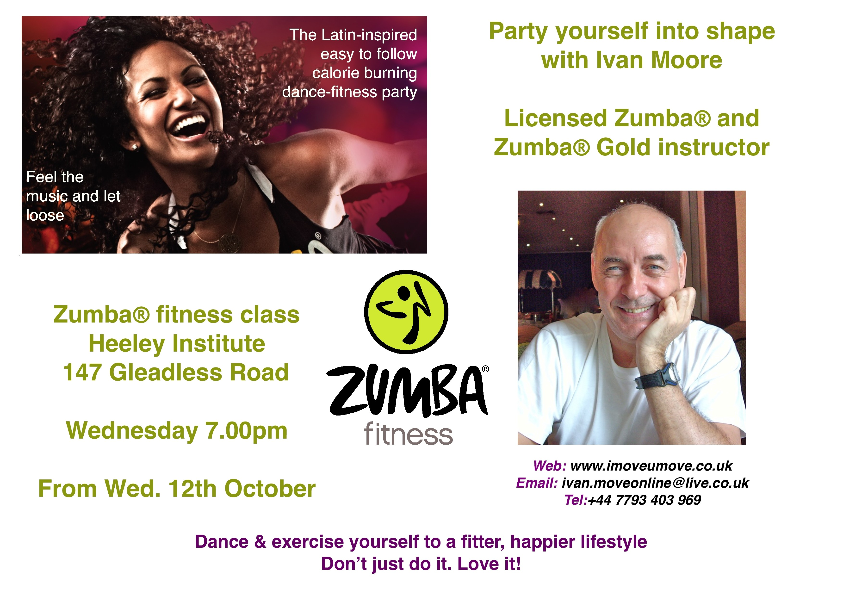 Zumba flyer design zumba flyers - Flyer Design For Zumba With Kheshan Print Or Packaging