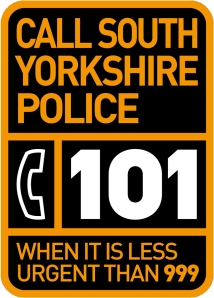 Call 101 When it is less than urgent