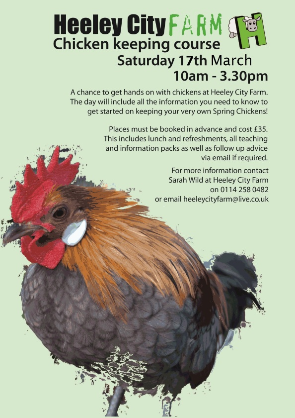chicken keeping Heeley City Farm