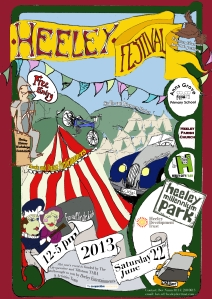 Heeley Festival Poster A3 Last