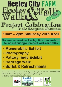heeley walk and talk project celebration