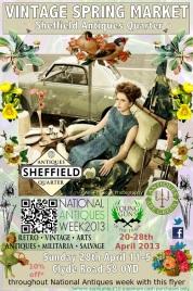 SAQ Spring Market Flyer designed by Sam Parr (The Corner Gallery) (sm)