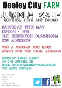 jumble sale 13 maysmall