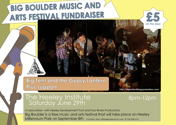 Heeley Institute Gig Poste Big tent