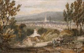 Sheffield, from Derbyshire Lane circa 1797 by Joseph Mallord William Turner 1775-1851