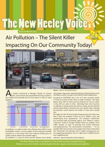 heeley voice march front cover