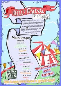 Heeley Festival 2014 Programme