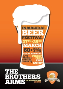 Beer Festival Brothers Arms Poster