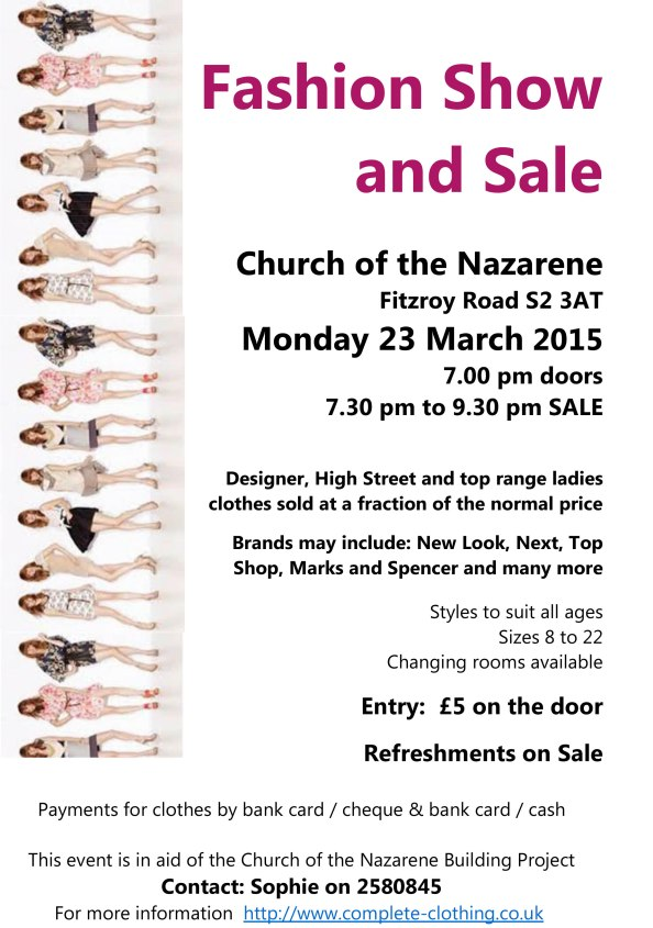 A5 Poster Fashion Show and sale
