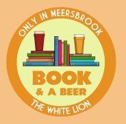 Beer and a book logo