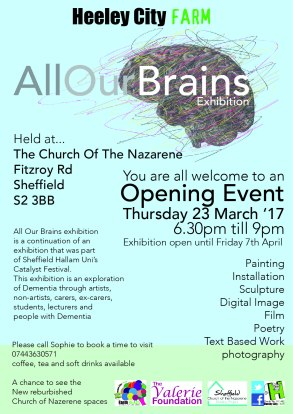 23 march 2017_All our brains at the nazarene_opening event
